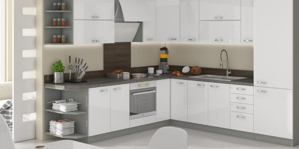 Σύνθεση κουζίνας Ingrid Corner Plus