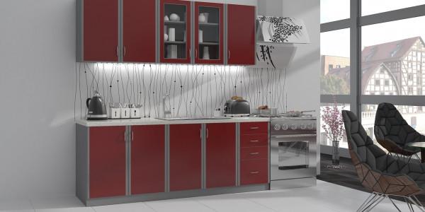 Σύνθεση κουζίνας Velvet mini